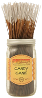 """Picture of WILD BERRY INCENSE 11"""" STICKS - CANDY CANE"""
