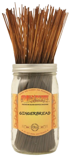 """Picture of WILD BERRY INCENSE 11"""" STICKS - GINGERBREAD"""