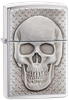 Picture of SKULL WITH BRAIN SURPRISE ZIPPO LIGHTER