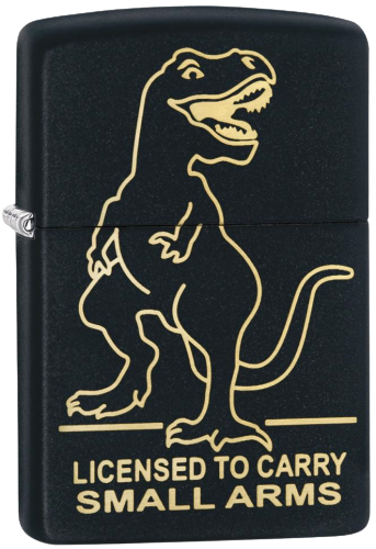Picture of LICENSE TO CARRY - SMALL ARMS DESIGN ZIPPO LIGHTER