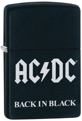Picture of AC/DC BACK IN BLACK ZIPPO LIGHTER