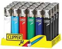 Picture of SOLID COLORED CLIPPER JET FLAME LIGHTER 48ct DISPLAY