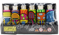 Picture of HAND SEWN TRIPPY MUSHROOM CLIPPER LIGHTERS 48 CT