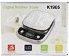 Picture of FUZION DIGITAL KITCHEN SCALE K1905 (3000g X  0.1g)