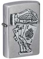 Picture of DEAD MAN'S HAND ZIPPO LIGHTER