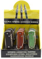 Picture of 12ct KEYCHAIN KNIVES