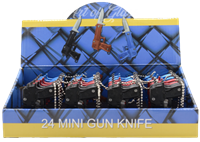 Picture of 24ct PISTOL KNIFE DISPLAY