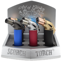 """Picture of 5"""" SINGLE FLAME 45º SCORCH TORCH - 6ct DISPLAY (61604)"""