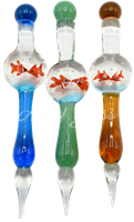"""Picture of 5"""" GLASS FISHBOWL DABBER"""