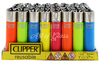 Picture of FLORECENT CLIPPER LIGHTERS 48ct