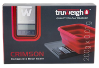 Picture of TRUWEIGH CRIMSON COLLAPSABLE BOWL SCALE (200g x 0.01g)