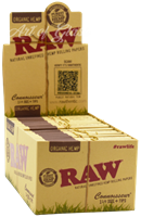 """Picture of RAW ORGANIC HEMP CONNOISSEUR 1-1/4""""  w/ TIPS (24ct)"""