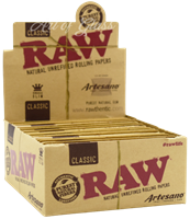 Picture of RAW ARTESANO KING SIZE SLIM PAPERS (15ct)