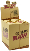 Picture of RAW PRE-ROLLED SLIM TIPS – 21PK -20CT DISPLAY