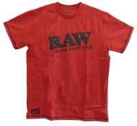 Picture of RAW CORE COTTON RED SHIRT WITH ZIPPER POCKET