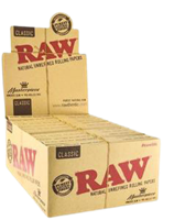 Picture of RAW MASTERPIECE CLASSIC KING SIZE w/ PREROLLED TIPS (24CT)