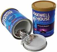 Picture of MAXWELL HOUSE COFFEE STASH CAN