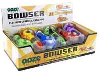 Picture of OOZE BOWSER SILICONE HAND PIPE - 12ct DISPLAY