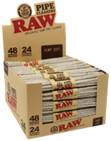 Picture of RAW PIPE CLEANERS - HEMP SOFT (48ct.)