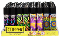 Picture of TRIPPY MUSHROOM DESIGN CLIPPER LIGHTERS (48ct DISPLAY)