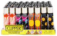 Picture of PSYCHEDELIC DESIGN CLIPPER LIGHTERS (48ct DISPLAY)
