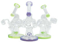 """Picture of 7"""" DONUT AND CONE RECYCLER w/ SHOWERHEAD PERC"""