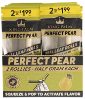 Picture of KING PALM PRE-PRICED ROLLIE 2pk - PERFECT PEAR - 20ct