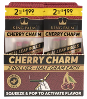 Picture of KING PALM PRE-PRICED ROLLIE 2pk - CHERRY CHARM - 20ct