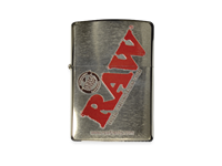 Picture of CHROME RAW ZIPPO LIGHTER