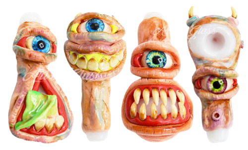 """Picture of 5"""" MOLDED MONSTER SPOON"""