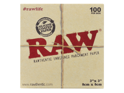 """Picture of RAW PARCHMENT SQUARESS – 3"""" x 3"""" - 100 SHEETS"""
