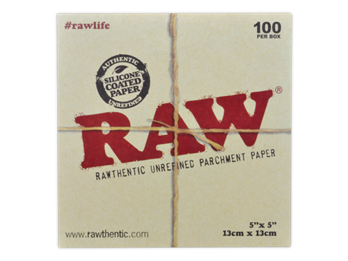 """Picture of RAW PARCHMENT SQUARESS – 5"""" x 5"""" - 100 SHEETS"""