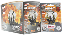 Picture of RHINO 8 MALE ENHANCEMENT (24ct.)