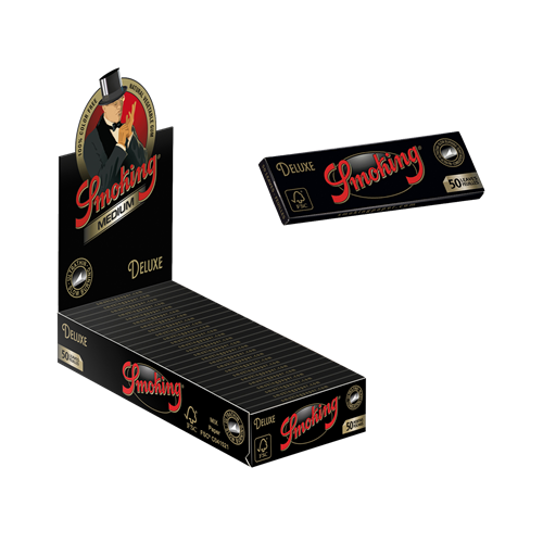"""Picture of SMOKING DELUXE 1 1/4"""" ROLLING PAPER"""