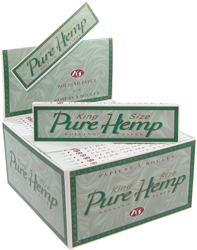 Picture of PURE HEMP CLASSIC KING SIZE ROLLING PAPERS
