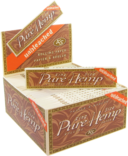 Picture of PURE HEMP UNBLEACHED KING SIZE ROLLING PAPERS