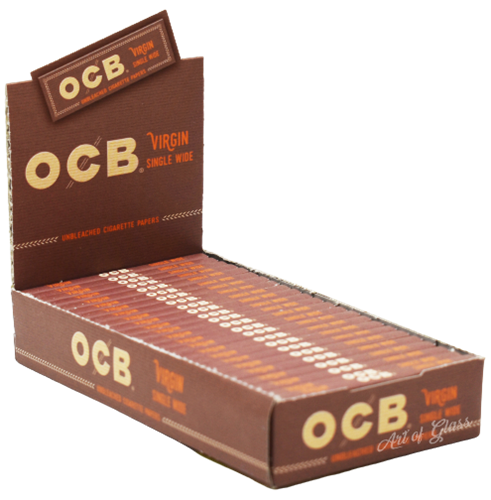 Picture of OCB VIRGIN PAPERS - SINGLE WIDE