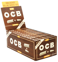 """Picture of OCB VIRGIN PAPERS w/TIPS - 1 1/4"""""""