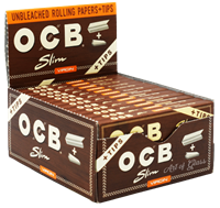 Picture of OCB VIRGIN PAPERS w/TIPS - SLIM