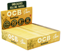 Picture of OCB BAMBOO PAPERS - SLIM