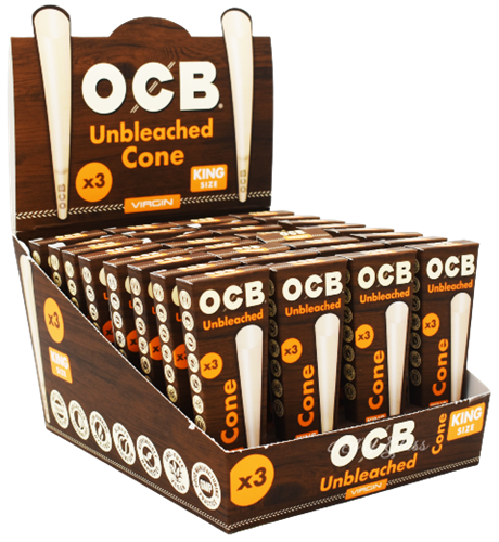 Picture of OCB VIRGIN CONES - KING SIZE (3pk.)