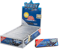 """Picture of JUICY JAYS ULTRA THIN HEMP PAPERS BLUEBERRY HILL 1-1/4"""" (24ct)"""